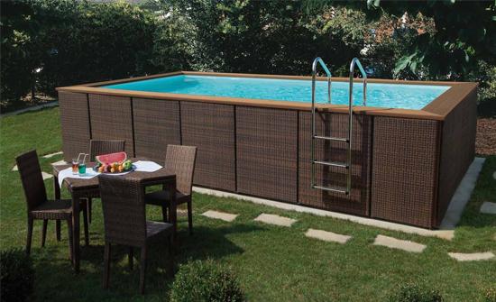 Installazione piscine fuori terra e piscine interrate for Laghetto resina